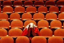 Annoying kid in cinema, trouble-maker C