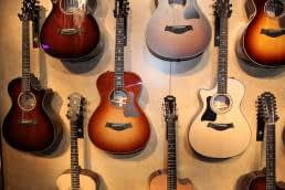 Hang guitar within reach to make habits easy